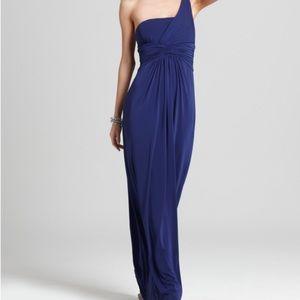 BCBG Maxazria Matilde blue formal dress S
